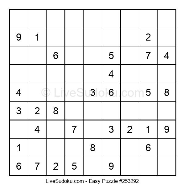 Beginners Puzzle #253292