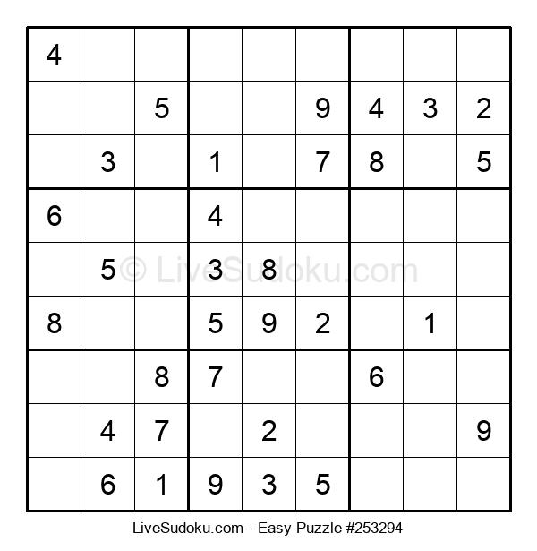 Beginners Puzzle #253294