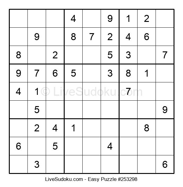 Beginners Puzzle #253298