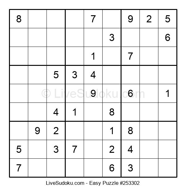 Beginners Puzzle #253302