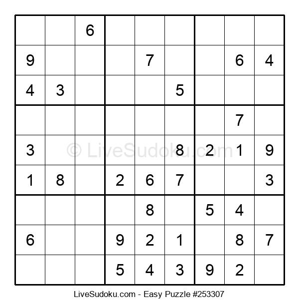 Beginners Puzzle #253307