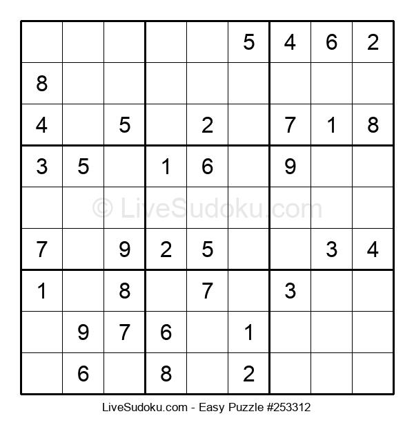 Beginners Puzzle #253312
