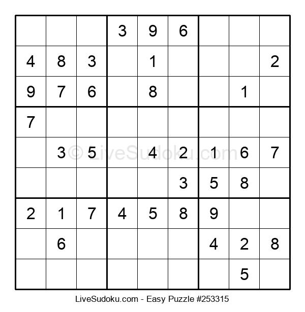 Beginners Puzzle #253315