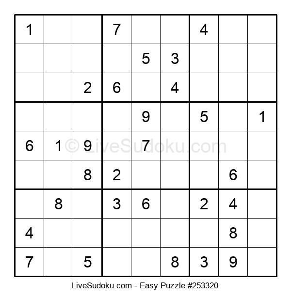 Beginners Puzzle #253320