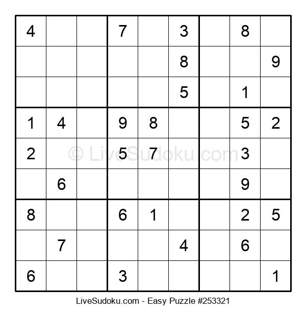 Beginners Puzzle #253321