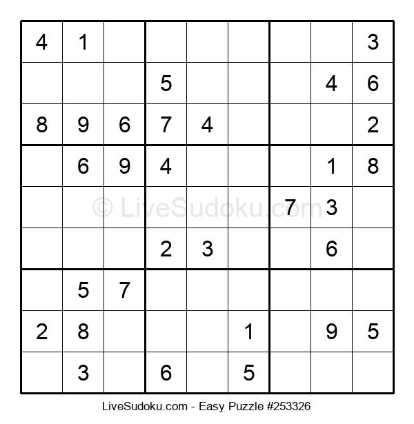 Beginners Puzzle #253326