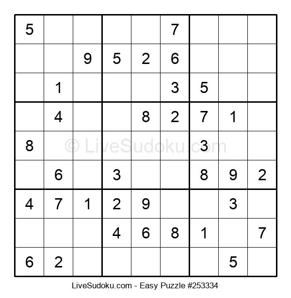 Beginners Puzzle #253334