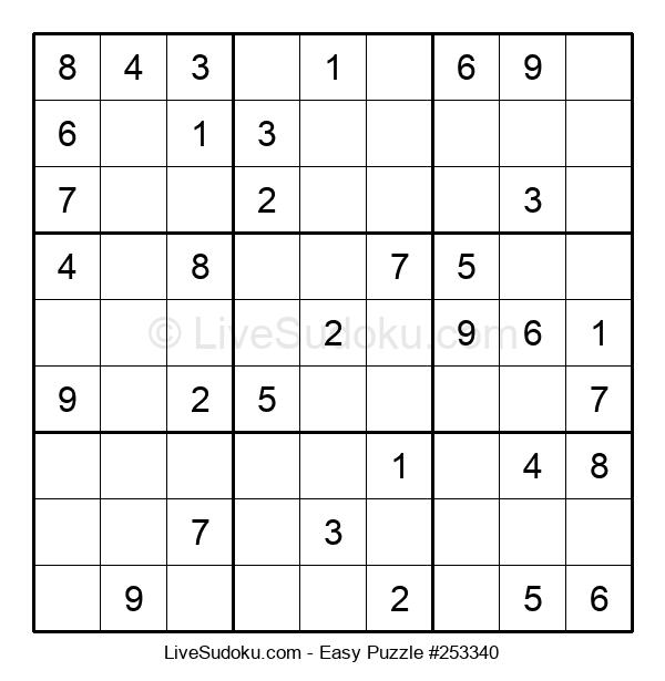Beginners Puzzle #253340
