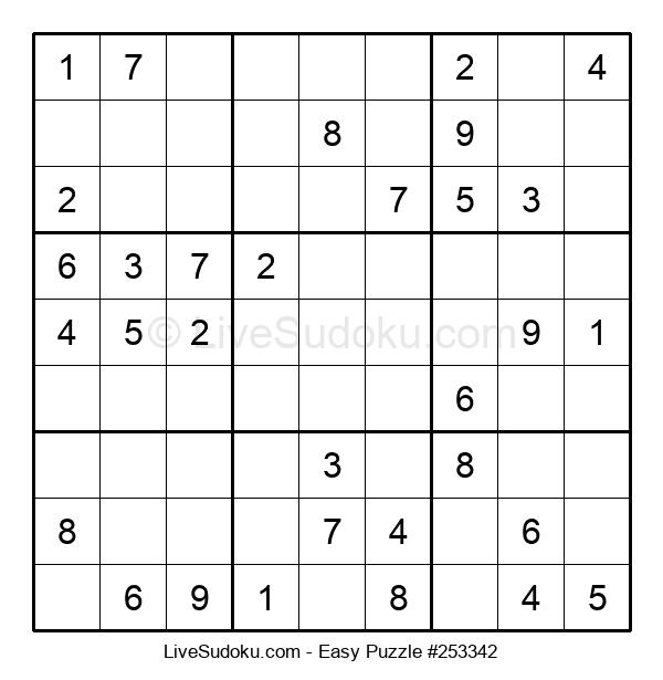 Beginners Puzzle #253342