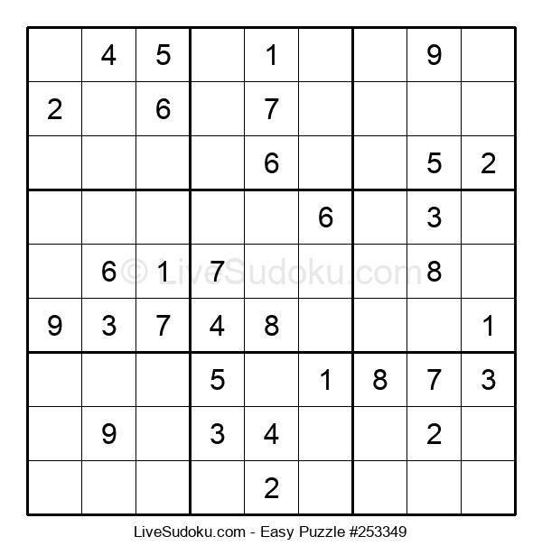 Beginners Puzzle #253349