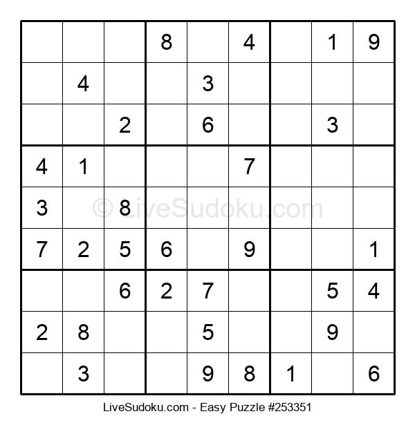 Beginners Puzzle #253351