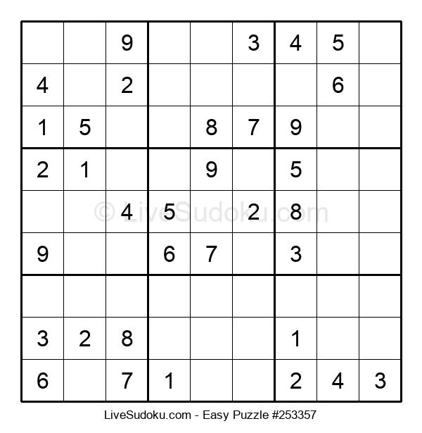 Beginners Puzzle #253357