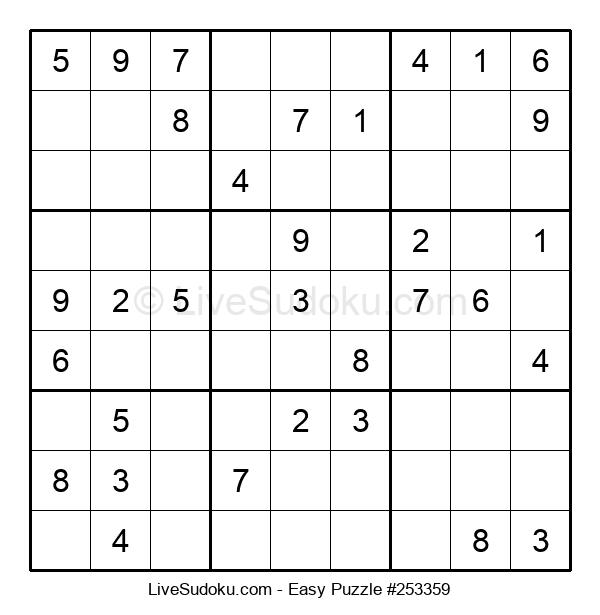 Beginners Puzzle #253359