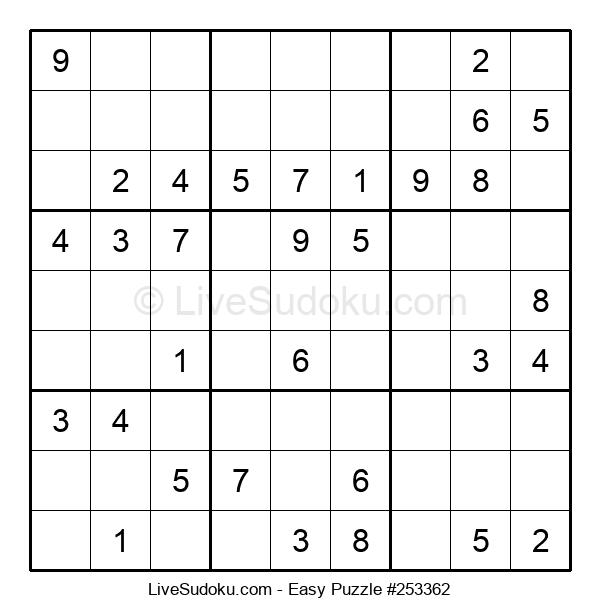 Beginners Puzzle #253362