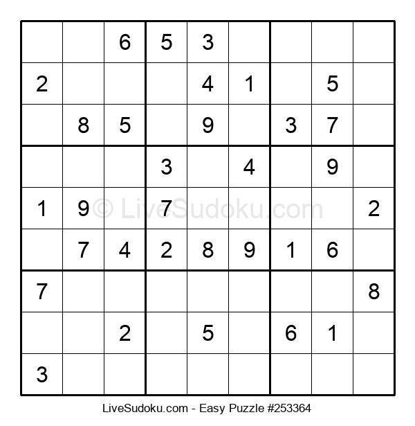 Beginners Puzzle #253364
