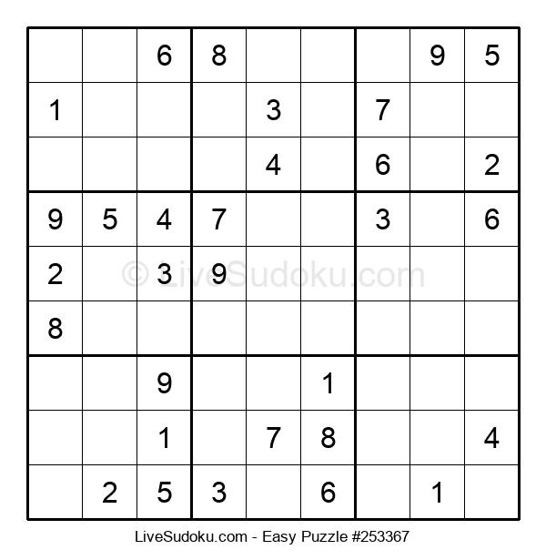 Beginners Puzzle #253367