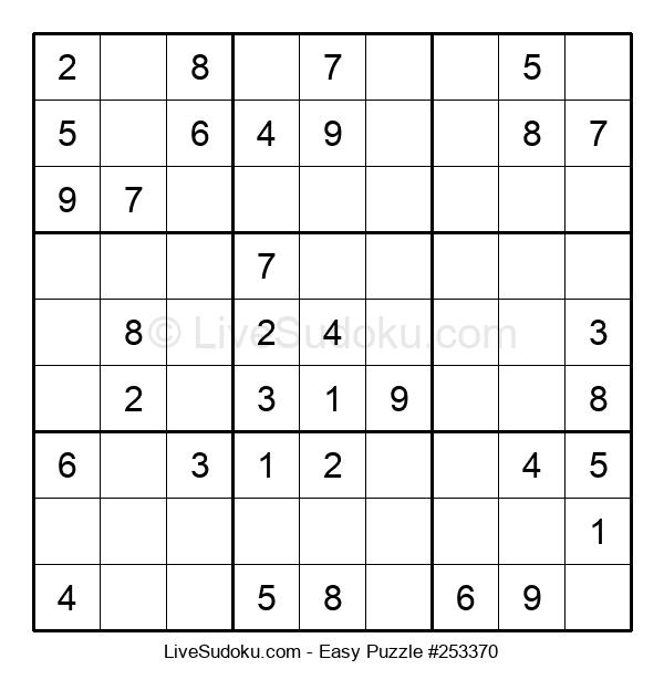 Beginners Puzzle #253370