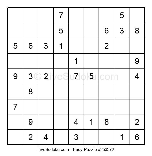 Beginners Puzzle #253372