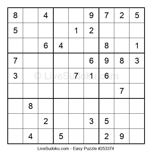 Beginners Puzzle #253374