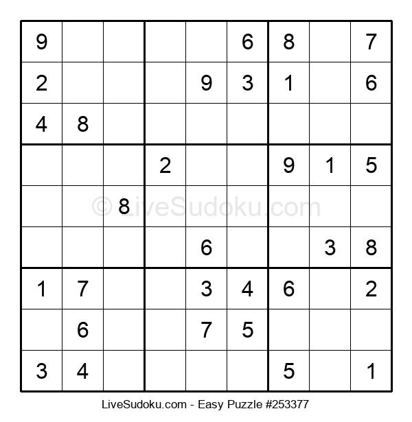 Beginners Puzzle #253377