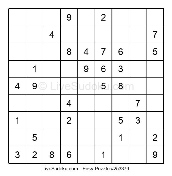 Beginners Puzzle #253379