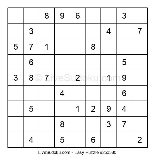 Beginners Puzzle #253380