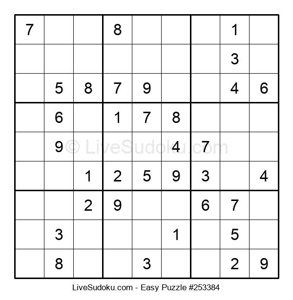 Beginners Puzzle #253384