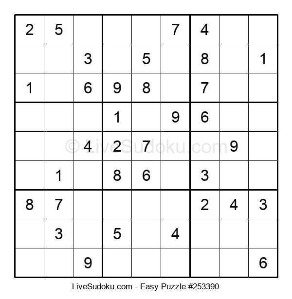 Beginners Puzzle #253390