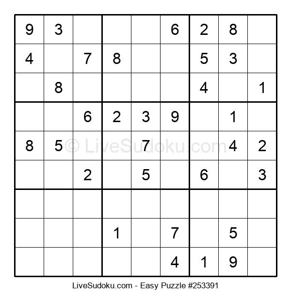 Beginners Puzzle #253391