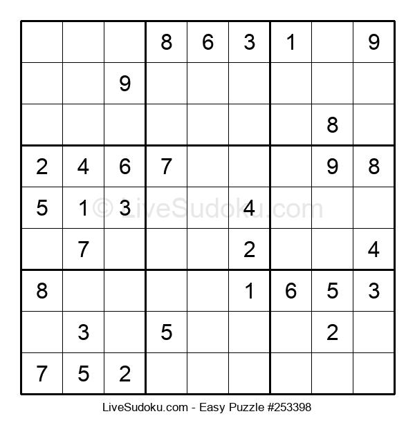 Beginners Puzzle #253398