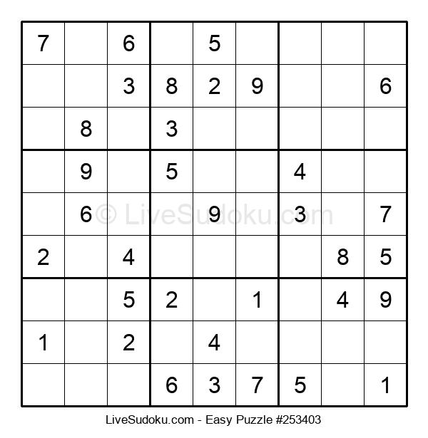 Beginners Puzzle #253403