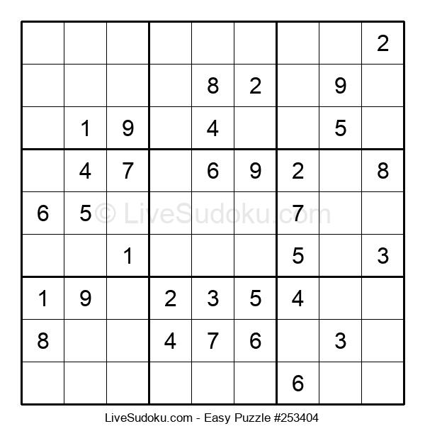 Beginners Puzzle #253404