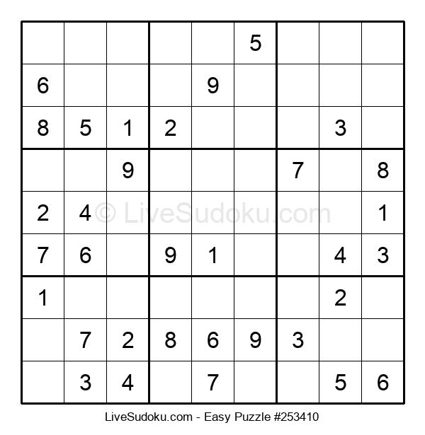 Beginners Puzzle #253410