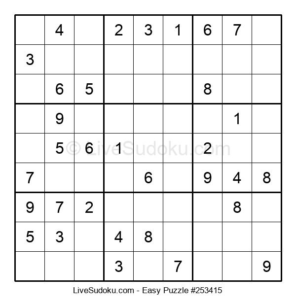 Beginners Puzzle #253415