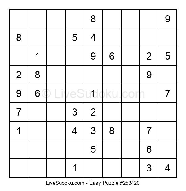 Beginners Puzzle #253420