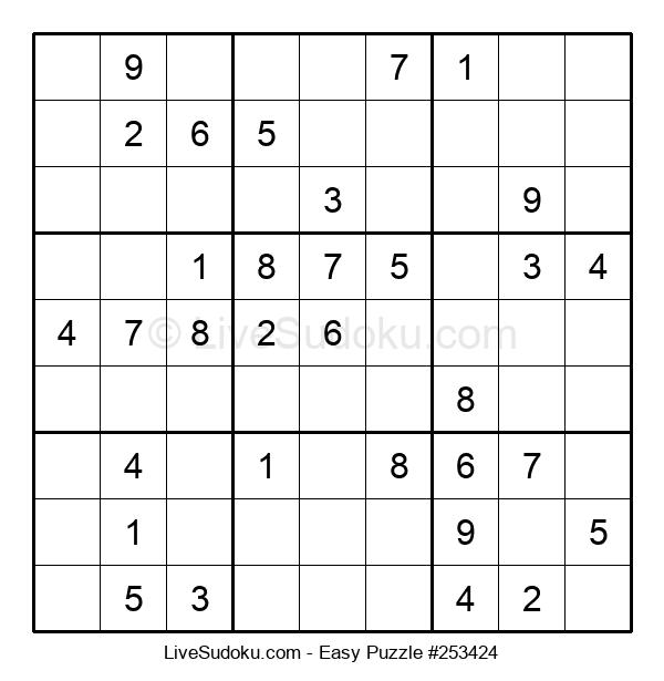 Beginners Puzzle #253424