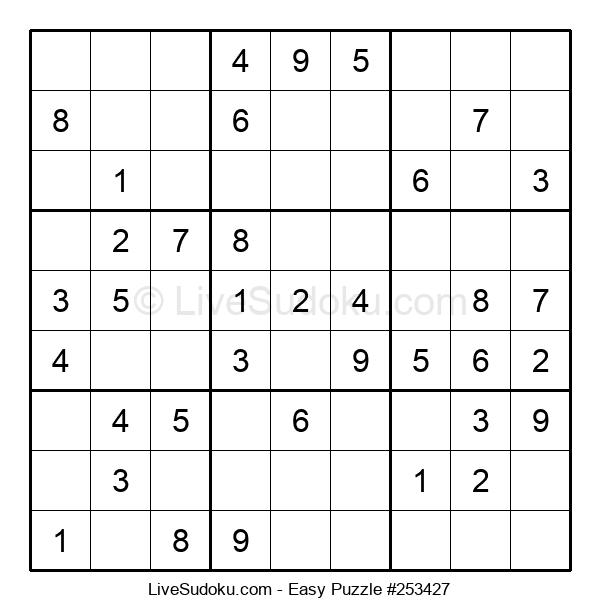 Beginners Puzzle #253427