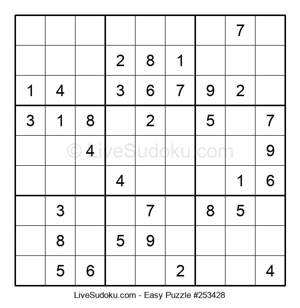 Beginners Puzzle #253428