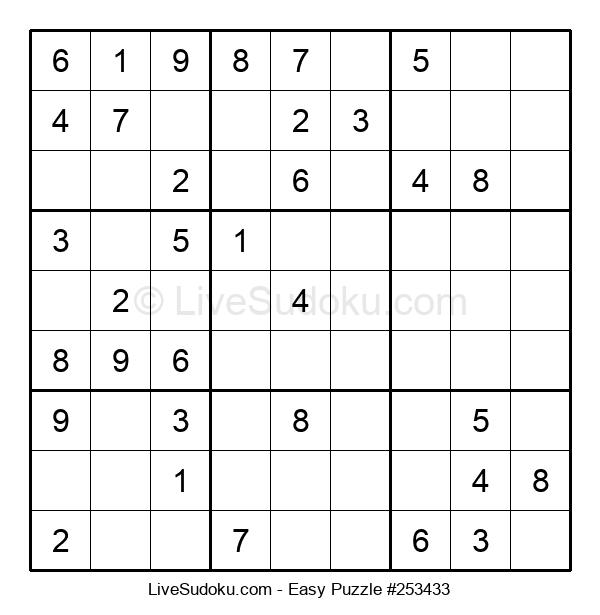 Beginners Puzzle #253433