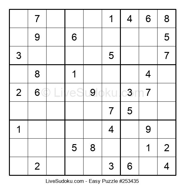 Beginners Puzzle #253435