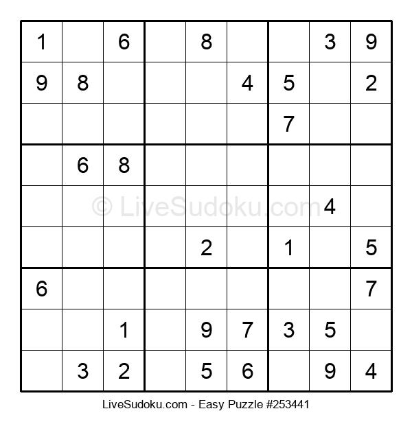 Beginners Puzzle #253441