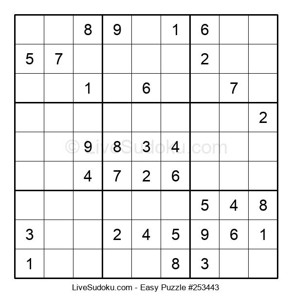 Beginners Puzzle #253443