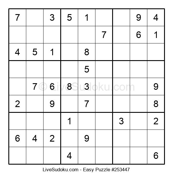 Beginners Puzzle #253447