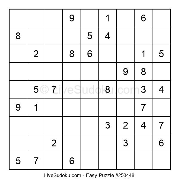 Beginners Puzzle #253448