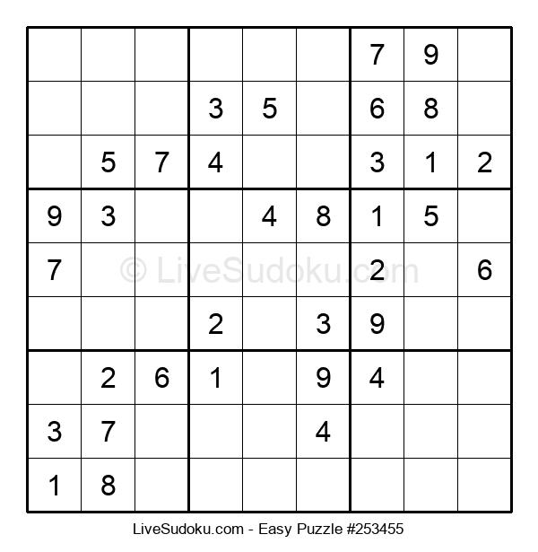 Beginners Puzzle #253455