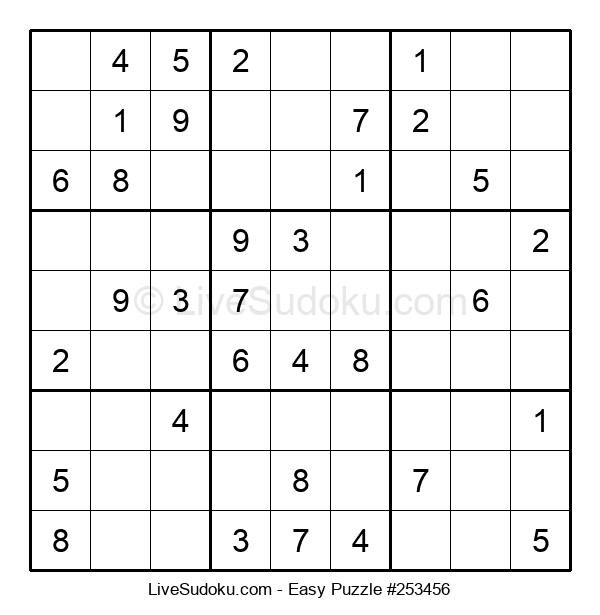 Beginners Puzzle #253456