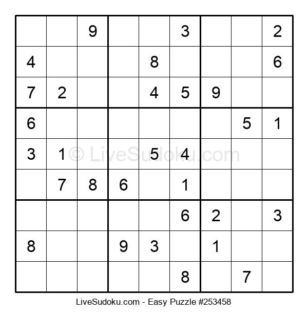 Beginners Puzzle #253458