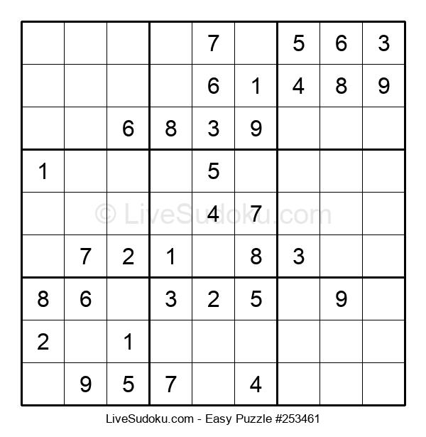 Beginners Puzzle #253461