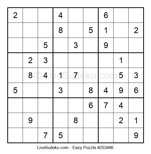 Beginners Puzzle #253466