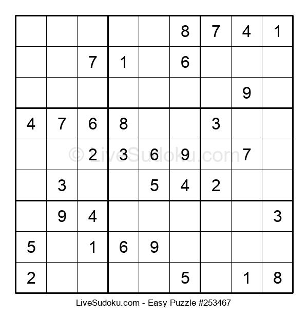 Beginners Puzzle #253467